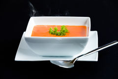Steaming Soup Royalty Free Stock Image