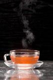 Steaming tea Stock Image