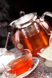 Steaming tea Stock Photos
