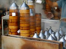 Steaming Timsum. Traditional style chinese food Royalty Free Stock Images