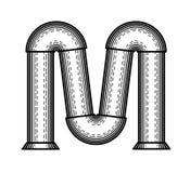 Steampunk字体 免版税图库摄影
