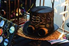Steampunk帽子 库存照片