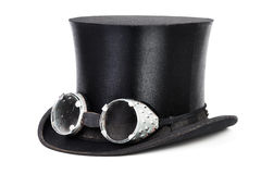 Steampunk帽子 库存图片