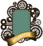 Steampunk挂锁 免版税库存图片