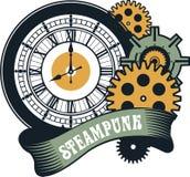 Steampunk机制 免版税库存图片