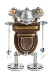 Steampunk机器人。 免版税库存照片