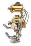 Steampunk机器人 免版税库存照片