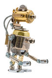 Steampunk机器人 免版税图库摄影