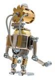 Steampunk机器人 图库摄影