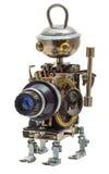 Steampunk机器人 库存图片