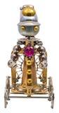 Steampunk机器人 免版税库存图片