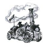 Steampunk机器 库存照片