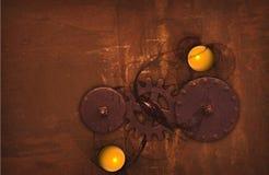 Steampunk珍珠 免版税库存照片