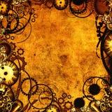 steampunk纹理 免版税库存图片
