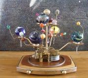Steampunk艺术太阳系仪 库存图片