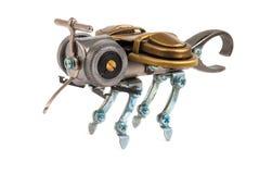 Steampunk蜂。 图库摄影