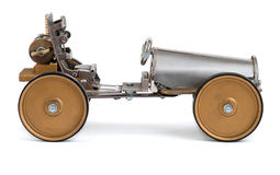 Steampunk车。 免版税库存照片