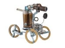 Steampunk车。 免版税库存图片