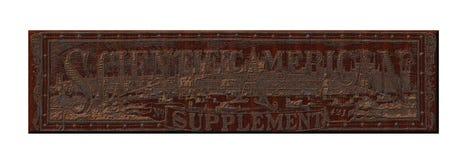 steampunk金属铁锈板材 库存图片