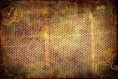 Steampunk钢背景 免版税库存图片