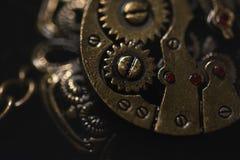 Steampunk项链 免版税库存图片