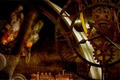 Steampunk?? 免版税图库摄影
