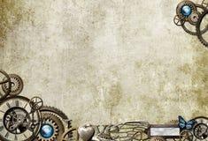 桌面steampunk 库存图片