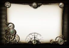 收藏页我的steampunk事情 图库摄影