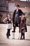 steampunk 免版税图库摄影