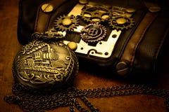 Steampunk细节 免版税库存图片