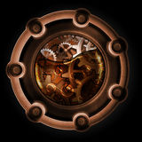Steampunk abstract mechanisme vector illustratie