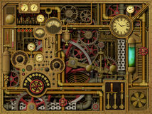 Free Steampunk Background Royalty Free Stock Photo - 60695235