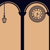 Steampunk background. Steampunk gears background backdrops wallpaper Stock Image