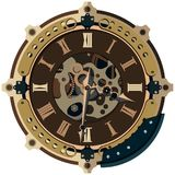 Steampunk background Royalty Free Stock Image