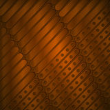 Steampunk background of thin metal plates Royalty Free Stock Photography