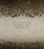 Steampunk background. Victorian era, steampunk style Royalty Free Stock Photography