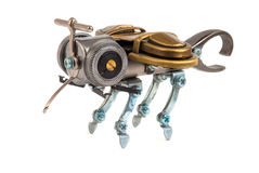 Steampunk bee. Stock Photography