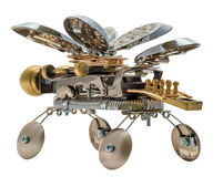 Steampunk bee. royalty free stock photography