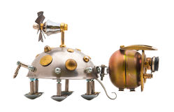 Steampunk beetle. Stock Image