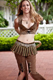 Steampunk Bellydancer Royalty Free Stock Photo