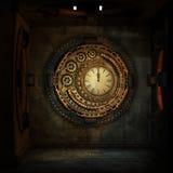 Steampunk, Box, Room, Round, Window Stock Photos