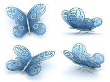 Steampunk Butterfly's Stock Photography