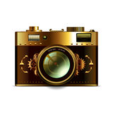 Steampunk camera  vector Royalty Free Stock Images