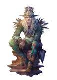 Steampunk charakter Zdjęcia Royalty Free