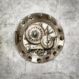 Steampunk circular Foto de Stock Royalty Free