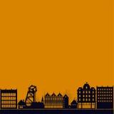 Steampunk city Stock Photo