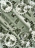 Steampunk cogs and gears Stock Photos