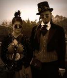 Steampunk Couple Stock Photos