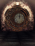 Steampunk czas ilustracji