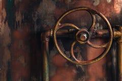 Steampunk do vintage do fundo foto de stock